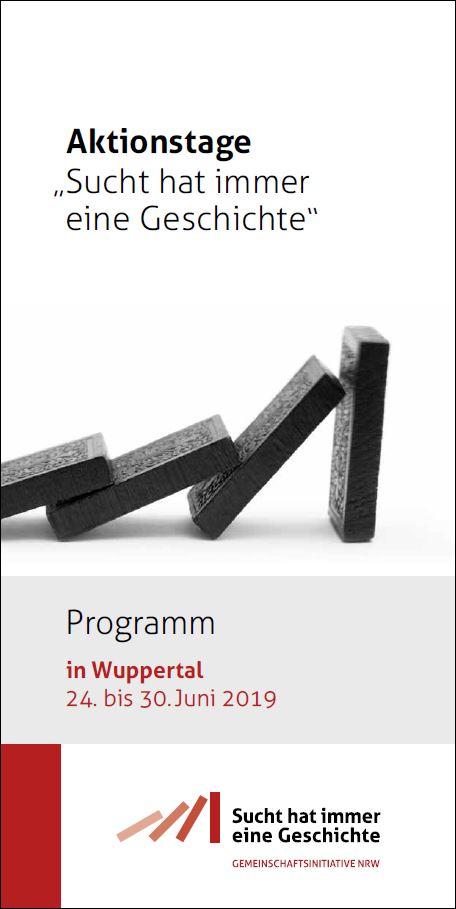 Titelbild Programm Aktionstage Wuppertal