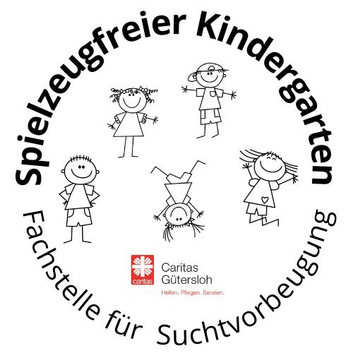 Logo Spielzeugfreier Kindergarten Caritas Gütersloh